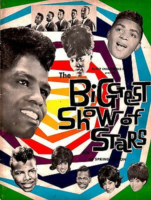 Otis Redding / James Brown / Tams 1964 Biggest Show Of Stars Spring Tour Program