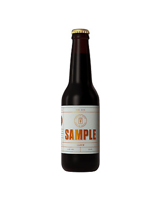 Sample Brew Lager case of 24 Craft Beer 330mL