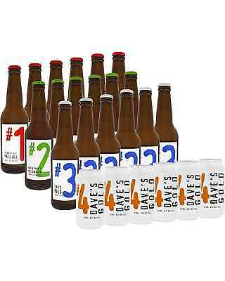 Dad & Dave's Brewing Mixed Craft Beer 24 Pack case of 24 Mixed Beer 330mL