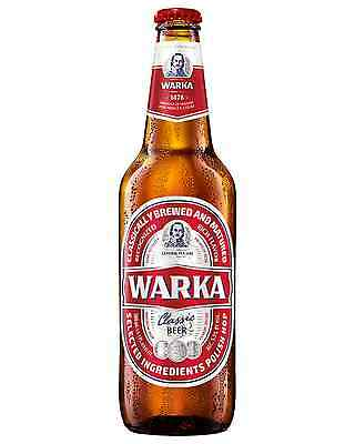 Warka Classic Red Lager 500mL case of 20 International Beer