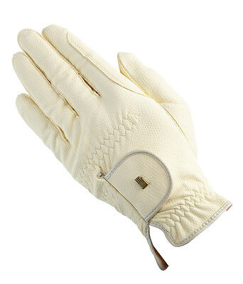 New Roeckl Chester Riding Gloves - Ivory - Various sizes