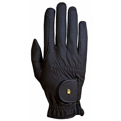 New Roeckl Chester Riding Gloves - Black - Various sizes 3, 4, 5
