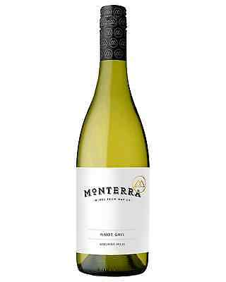 Monterra Pinot Gris 2015 case of 12 Dry White Wine 750mL Adelaide Hills