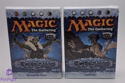 *** Coldsnap Theme Decks *** Beyond The Grave & Snowscape *** New & Sealed ***
