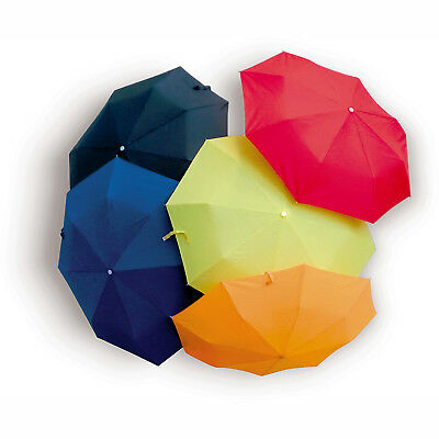 """Folding umbrella and PVC pouch. 3 fold.190T manual opening size 94Cm/37"""""""