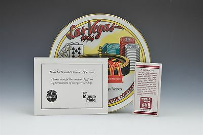 McDonalds Owner Operator Las Vegas Owner Operator Convention 1994 Coke Plate