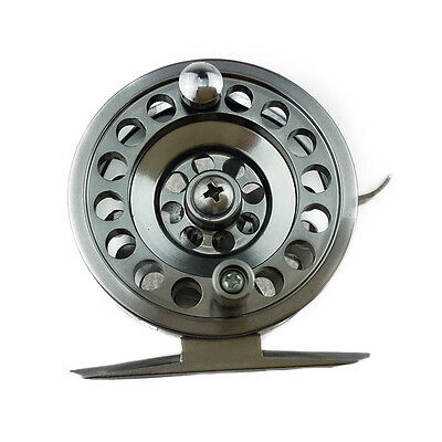 New Metal Ice Fishing Reel Right Hand Rocker With Brake 100M Line Capacity Reel