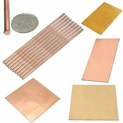 99.9% Pure Copper Cu Metal Sheet Plate/Rod Tube & Brass Metal Thin Sheet Plate