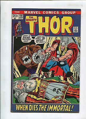 """Thor #198 """"when Dies The Immortal!"""" (7.5)"""