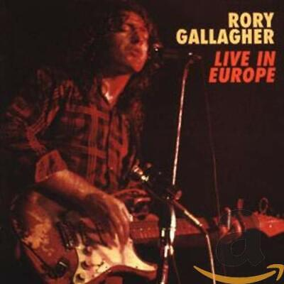 Gallagher, Rory - Live! In Europe - Gallagher, Rory CD DXVG The Cheap Fast Free