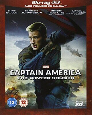 Captain America: The Winter Soldier [Blu-ray 3D + Blu-ray] [Regio... - DVD  6OVG