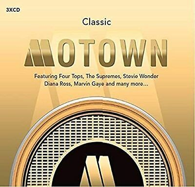 Various Artists - Classic Motown - Various Artists CD H8VG The Cheap Fast Free