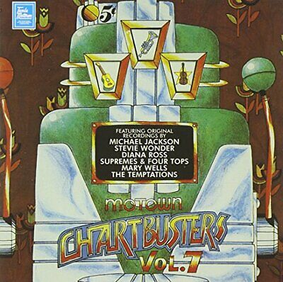 Various Artists - Motown Chartbusters Vol.7 - Various Artists CD W5VG The Cheap