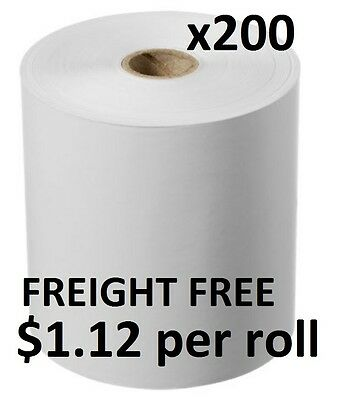 225 Rolls 80x80mm Thermal Paper, Cash Register, Receipt Rolls ($1.12 per roll)
