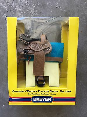 New Breyer Horse Traditional Accessory #2467 Cimarron Western Pleasure Saddle
