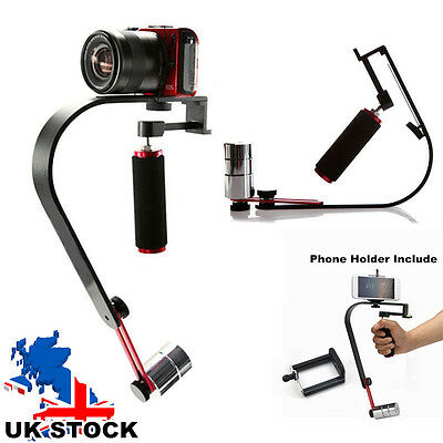 Handheld Steady Camera Gimbal Support Bracket for iPhone Cannon Nikon Camera