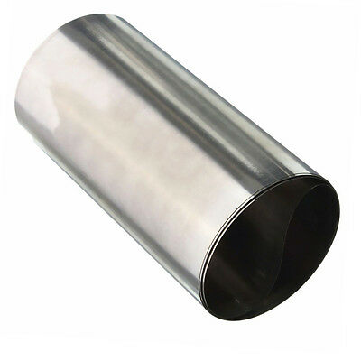 1 X Roll 304 Stainless Steel Fine Plate Sheet Foil 1M x 0.1MM x 100MM