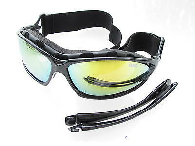 Ravs Sport Glasses - kitesurfbrille - Aerial with Band and Strap