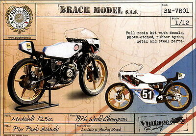 Brach Models 1/12 Morbidelli 1976 World Champion Machine (Pier Paolo Bianchi)
