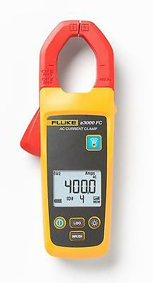 Fluke Connect A3000-FC Wireless AC Current Clamp Module Takes TRMS Measurements