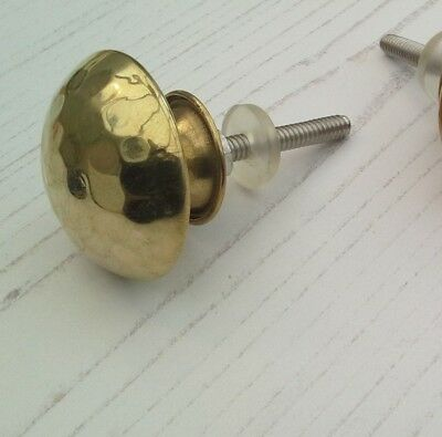 Gold Drawer Knobs Door Draw Cupboard Vintage 1Post Charge Multiple Buy