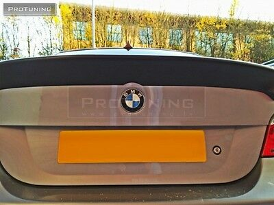 NEW Brand REAR TRUNK Boot M5 SPOILER addon CSL LOOK exterior tuning styling