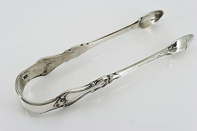 Sterling Silver London 1882 Victorian Sugar Tongs. Holland, Son & Slater. NICE1