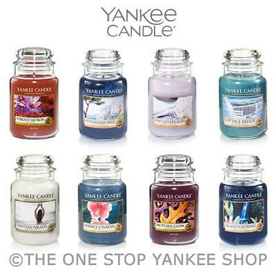 Yankee Candle Large Jar Scented 22oz Variety - Up to 40% OFF!