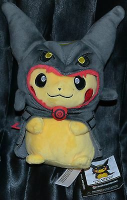 "9"" Shiny Rayquaza Cape Pikachu Standard Poke Plush Pokemon Center Dolls Toys EX"