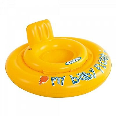 Baby Support Inflatable Float Ring Boat Swimming Aids Equipment Safety Yellow