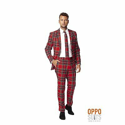 OppoSuits Men's The Lumberjack Party Costume Suit