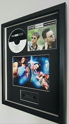 Savage Garden Truly Madly Deeply Framed Original CD- Plaque-Certificate-