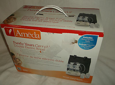 Ameda Purely Yours Carry All Double Electric Breast Pump Breastpump Bpa Free New