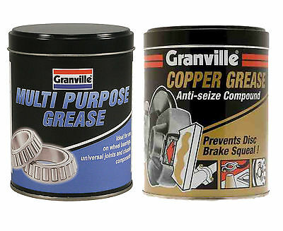Granville Copper Grease Slip Anti Seize Compound & Multi Purpose 500g - Twinpack