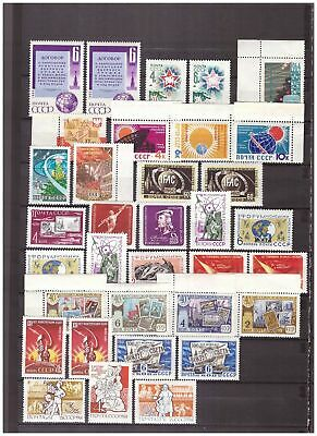 s15053) SPACE  MNH** URSS RUSSIA 34v