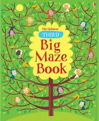 NEW Third Big Maze Book By Kirsteen Robson Paperback Free Shipping