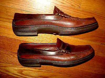 Men's Allen Edmonds Lagrange Leather Penny Loafer Dress Shoes Size 8.5 B