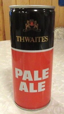 Thwaites Pale Ale Crimped Steel Beer Can Unopen Air Filled Brew in England