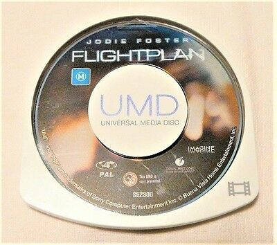 "Flightplan Psp Umd ""movie Disk Only"" Auz Seller"