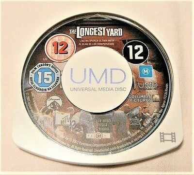 "The Longest Yard Psp Umd ""movie Disk Only"" Auz Seller"
