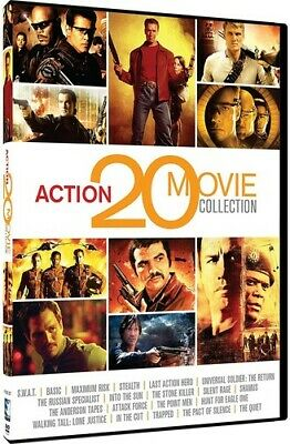 Action 20 Movie Collection [New DVD]