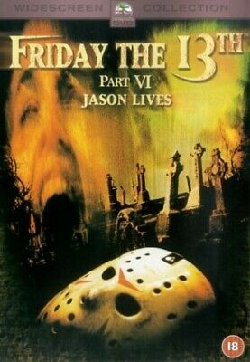 Friday The 13th Part VI Jason Lives [1986] [DVD] - DVD  5KVG The Cheap Fast Free