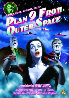 Plan 9 From Outer Space [DVD] - DVD  0YVG The Cheap Fast Free Post