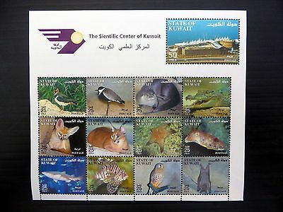 KUWAIT 2002 Scientific Centre Birds Sheetlet SG1754a U/M FP9588