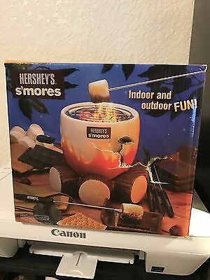 Hershey's S'mores Maker Campfire Fun New In Box Box Torn On Front