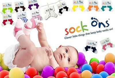 Sock Ons - Keep baby socks on!