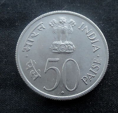 50 Paise India 1964 #4694