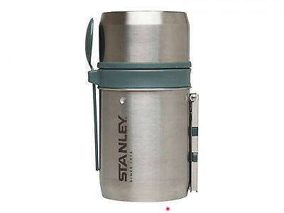 Stanley Adventure Mountain Food-System Cook Pot Vakuum-Isolation silber 0,6 L