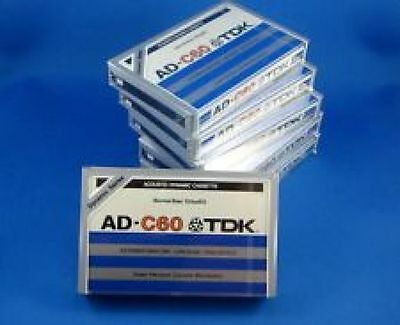 New Sealed TDK AD-C60 Cassette Tape Made in USA