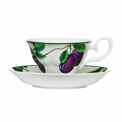Cup and Saucer Kitchen Sugar Plum 160ml Bone China